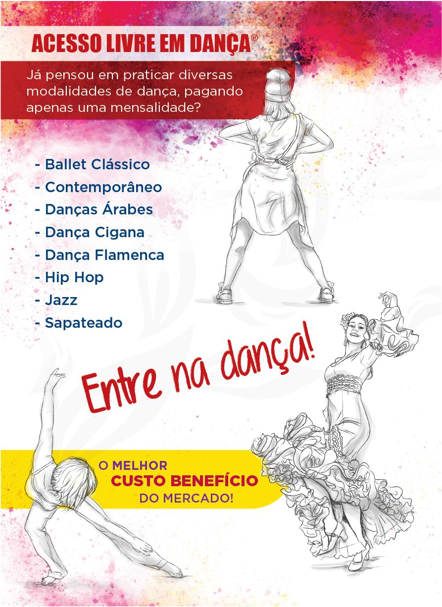 acesso livre em dança