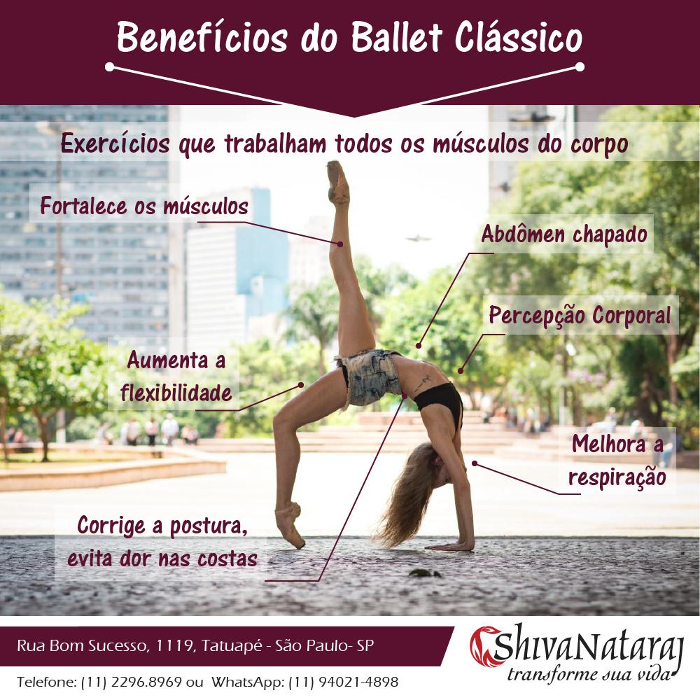 beneficios ballet classico