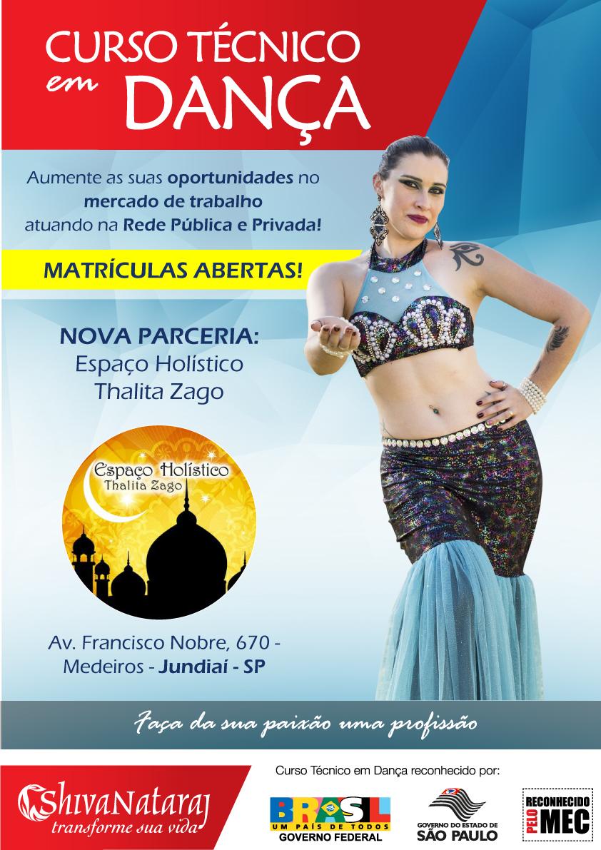 parceria Thalita Zago curso tecnico danca Jundiai